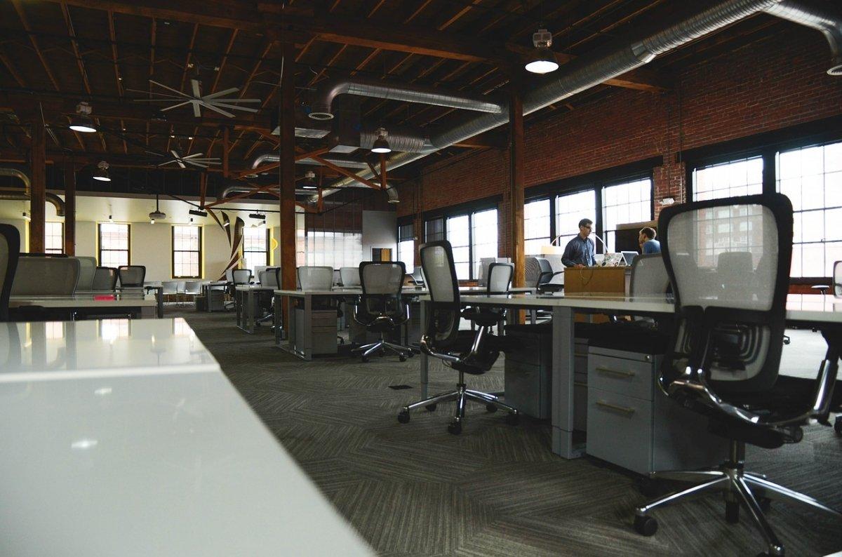 Oficinas de una startup