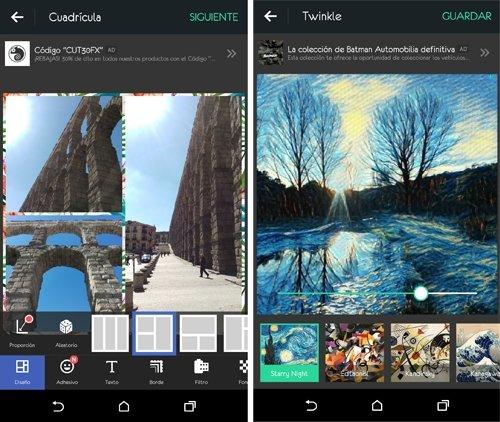 Olvídate de los collages de papel y pegamento con esta app.