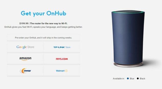 OnHub ya puede reservarse en estos canales