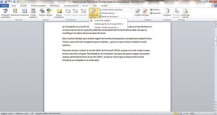 Optimiza Word 2010 2