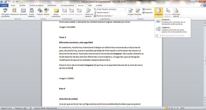 Optimiza Word 2010 3