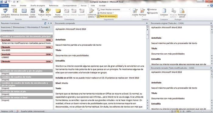 Optimiza Word 2010 5