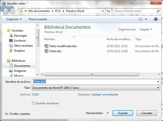 Optimiza Word 2010 6