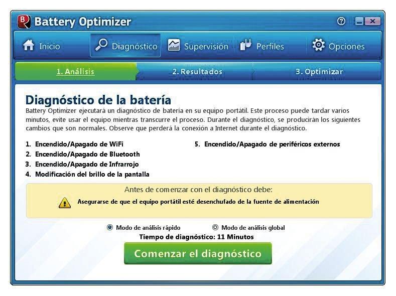 Optimizar batería Battery Optimizer