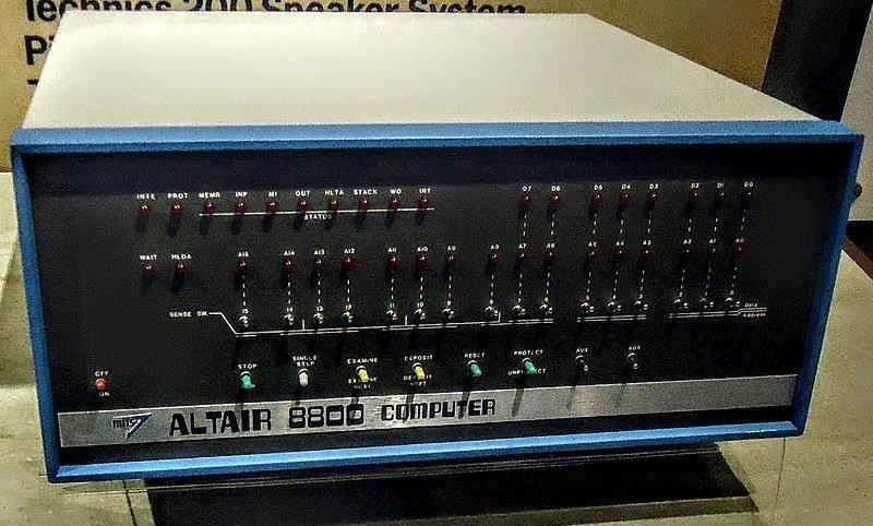 Ordenador Altair 880