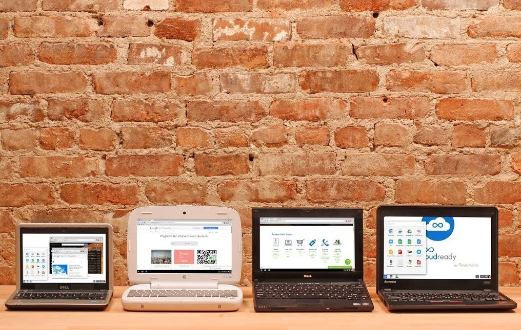 Ordenadores con Chrome OS gracias a CloudReady