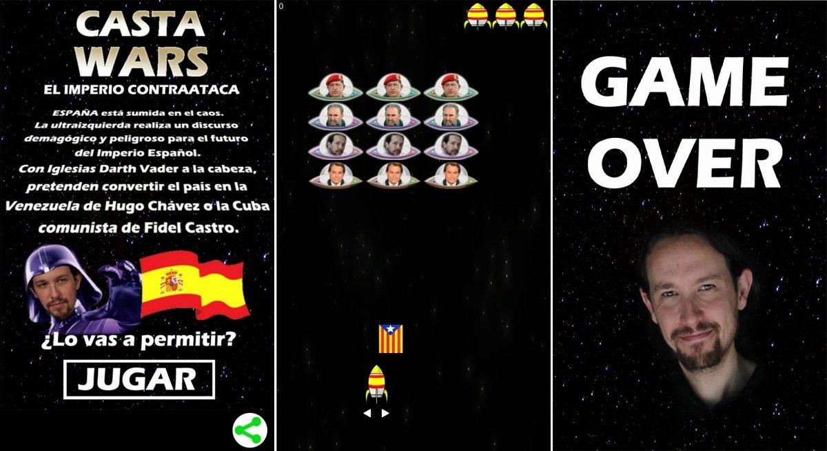 Pablo Iglesias en el Lado Oscuro