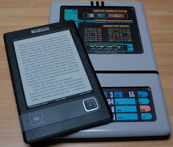 PADD versus e-reader actual