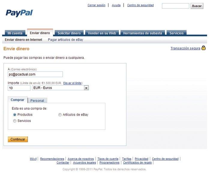 Paga sin miedo PayPal 5
