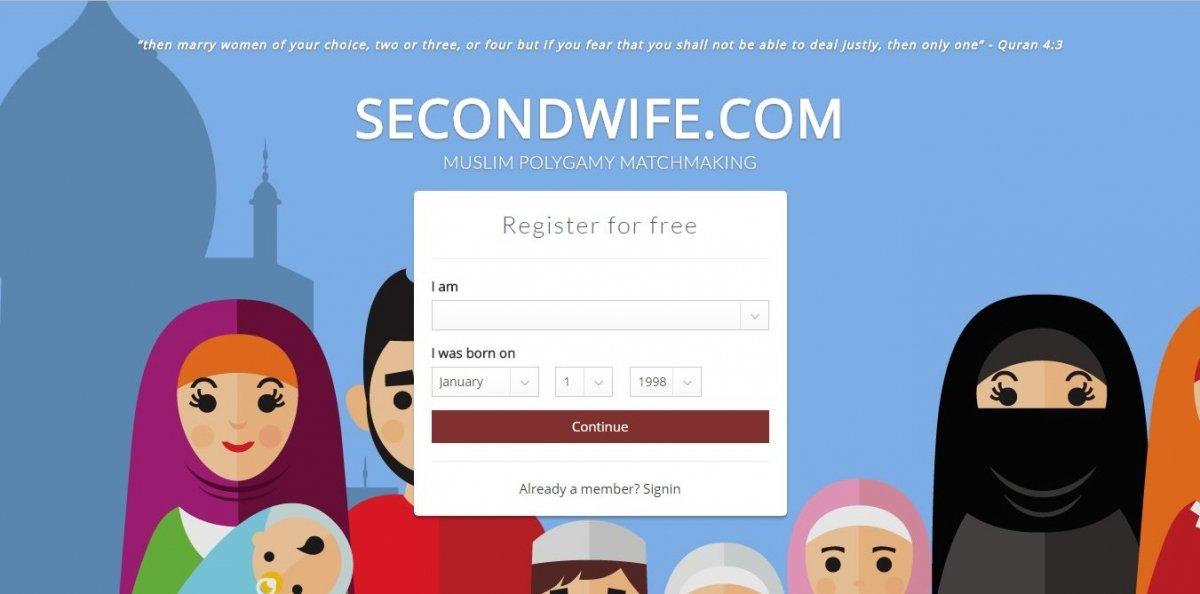 Página principal de SecondWife