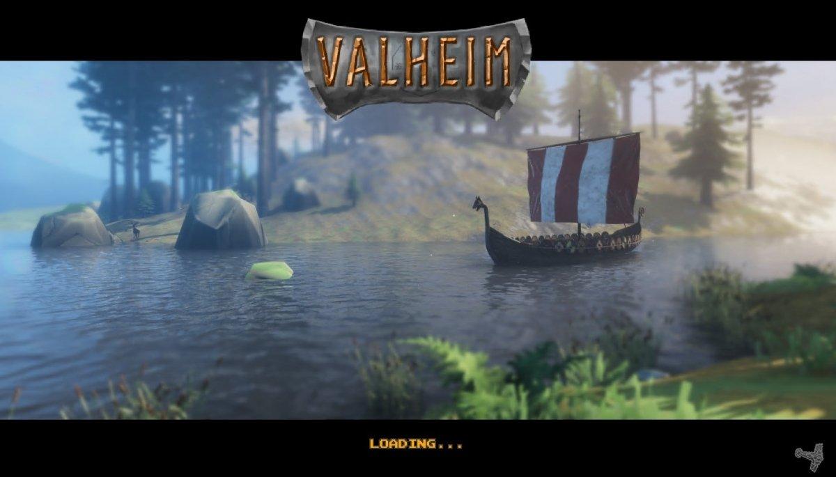Pantalla de carga de Valheim para PC