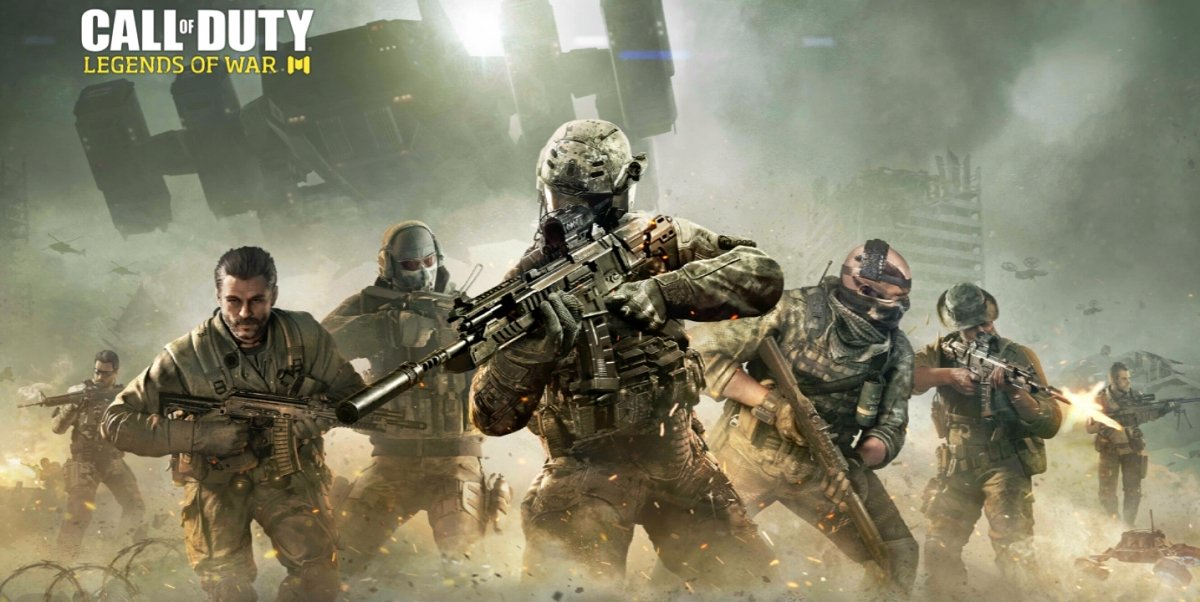 Pantalla de carga inicial de Call of Duty Legends para Android