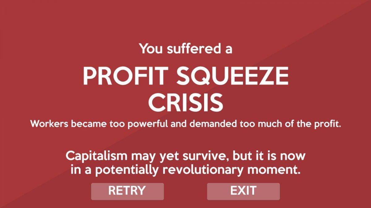 Pantalla de crisis en Crisis Theory
