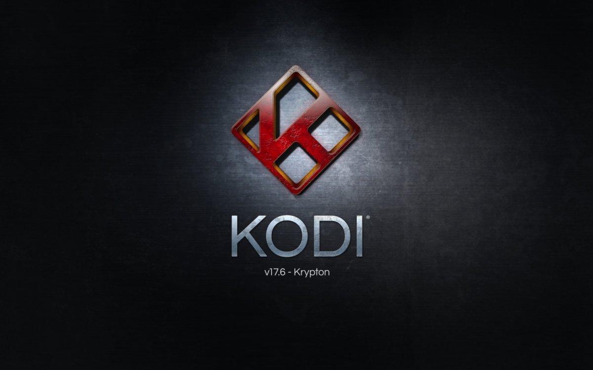 Pantalla de inicio de Kodi