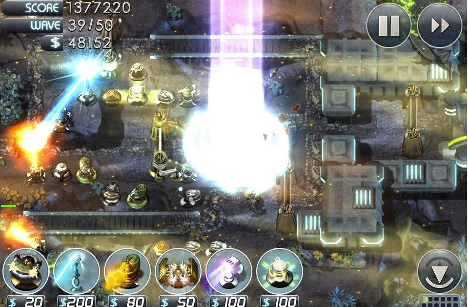 Pantalla de juego de Sentinel 3