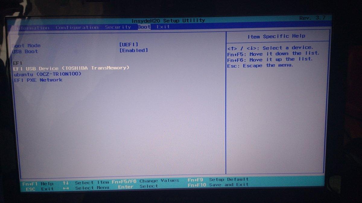 Para instalar un nuevo SO es necesario entrar en la BIOS primero