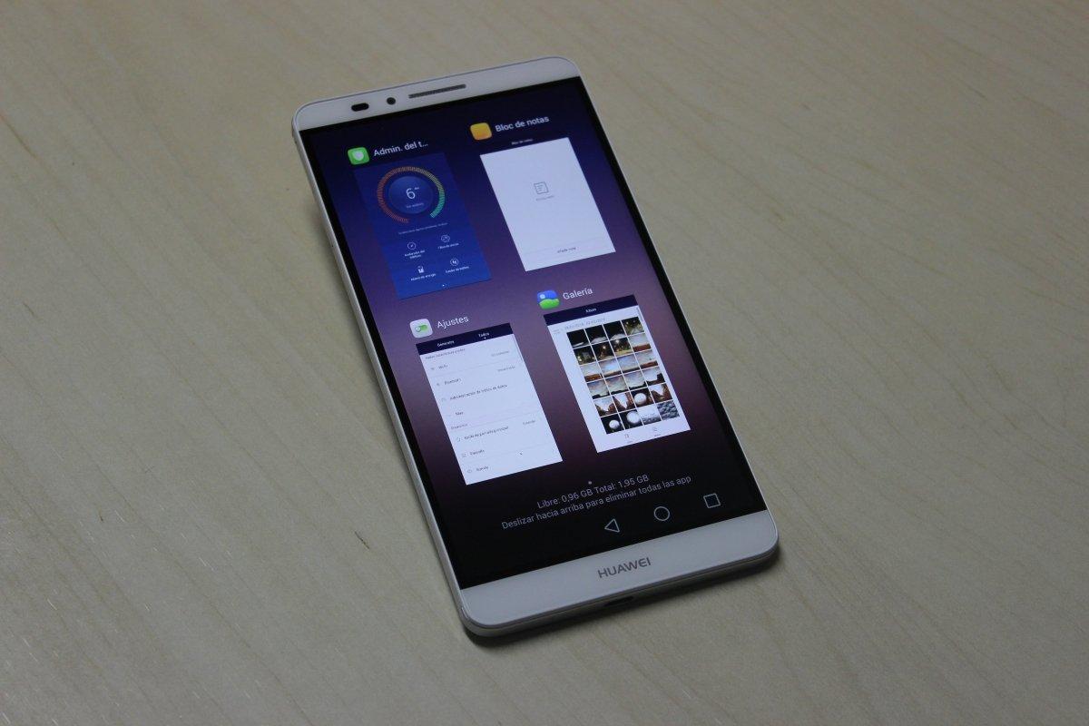 Parte delantera de Huawei Ascend Mate 7