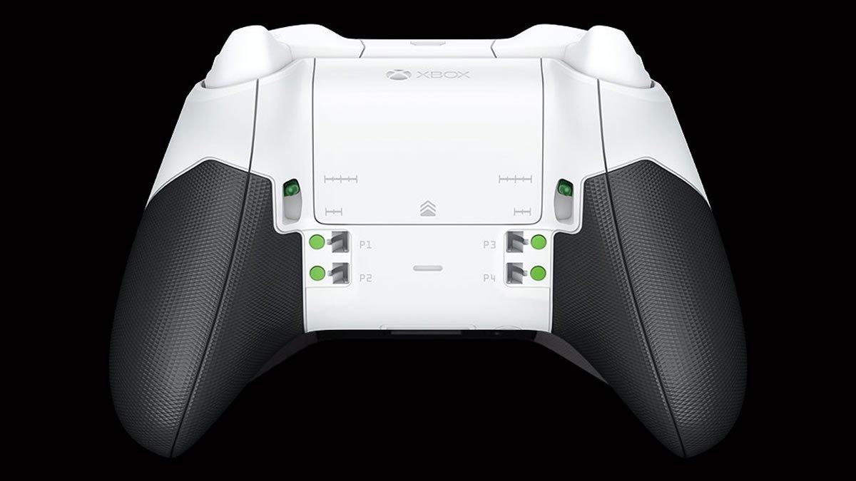 Parte posterior del Xbox Controler Elite Series 2