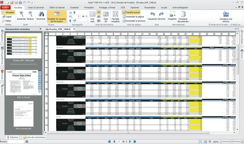 PDF desde Excel