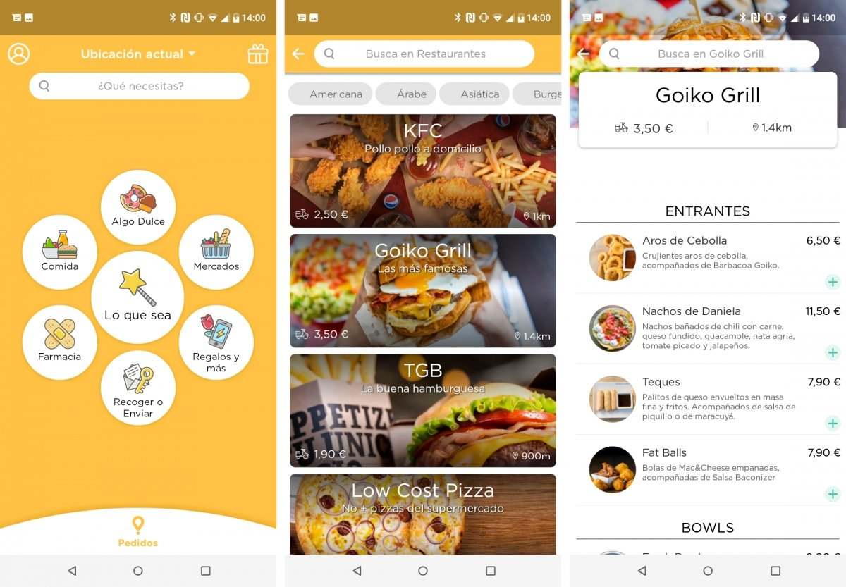 Ordering at home with Glovo is easy