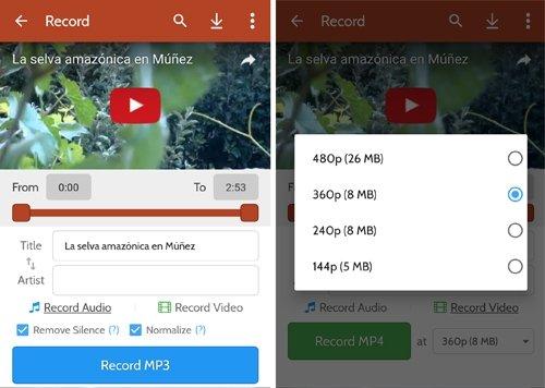 Peggo, simpleza y rapidez para vídeos y audios.