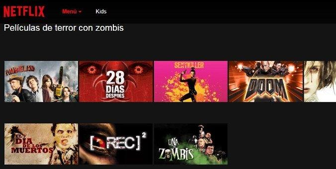 Películas de muertos vivientes y zombis en Netflix (Terror)