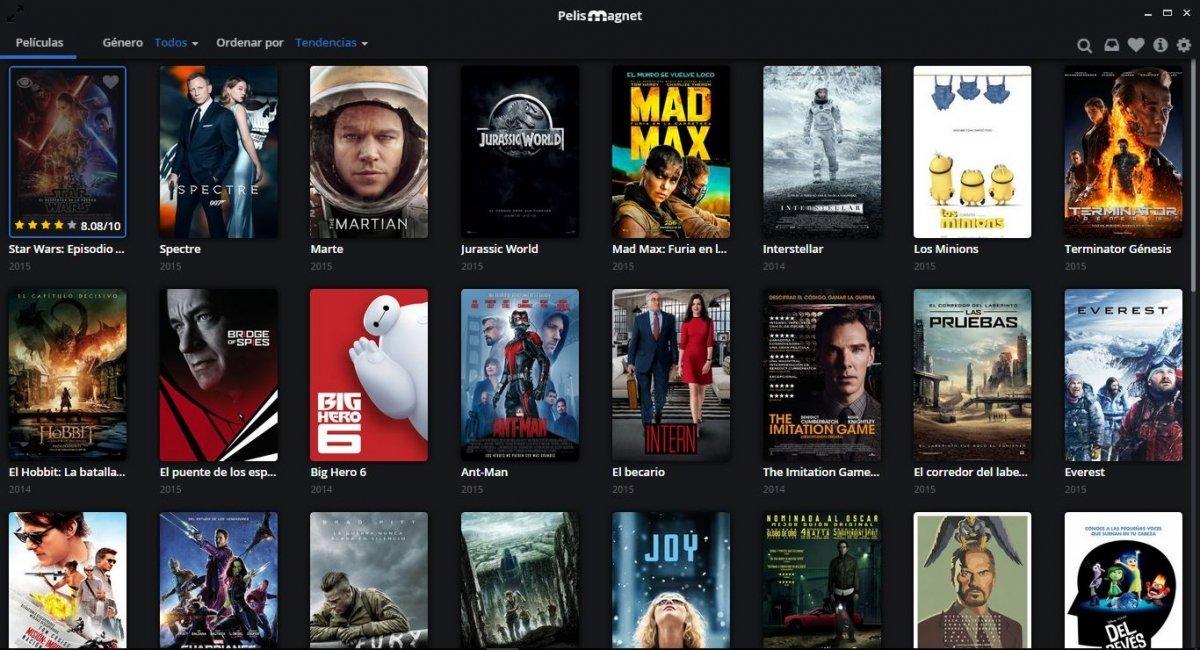 Pelismag.net ha intentado recrear el espíritu de Popcorntime en español