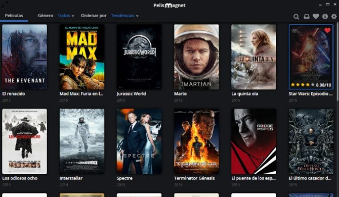 Pelismag.net, streaming de películas en castellano