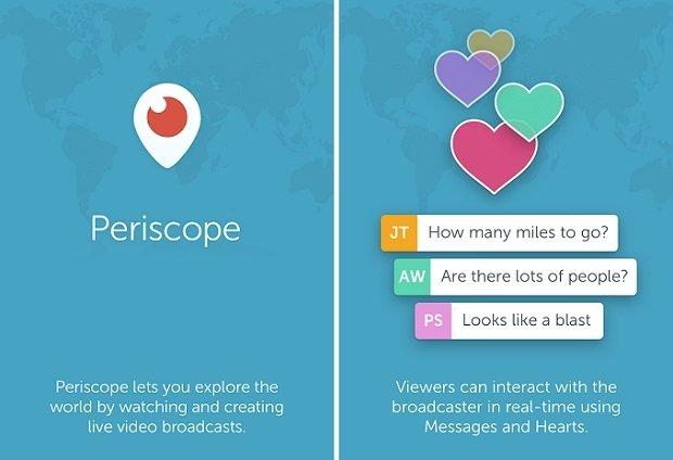 Periscope está llamado a revolucionar los streamings en directo