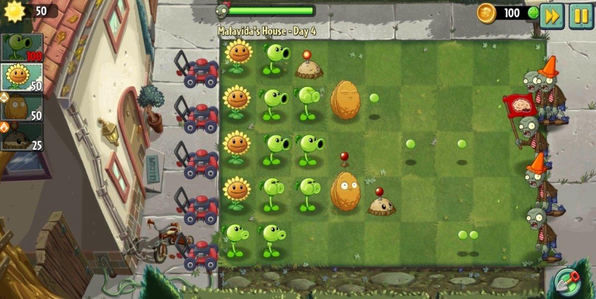 Plants vs. Zombies 2, ¿quién no ha jugado nunca una partida a este genial TD?