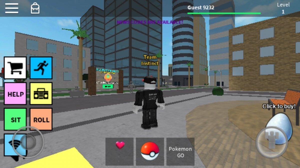 Pokémon GO Roblox en Android