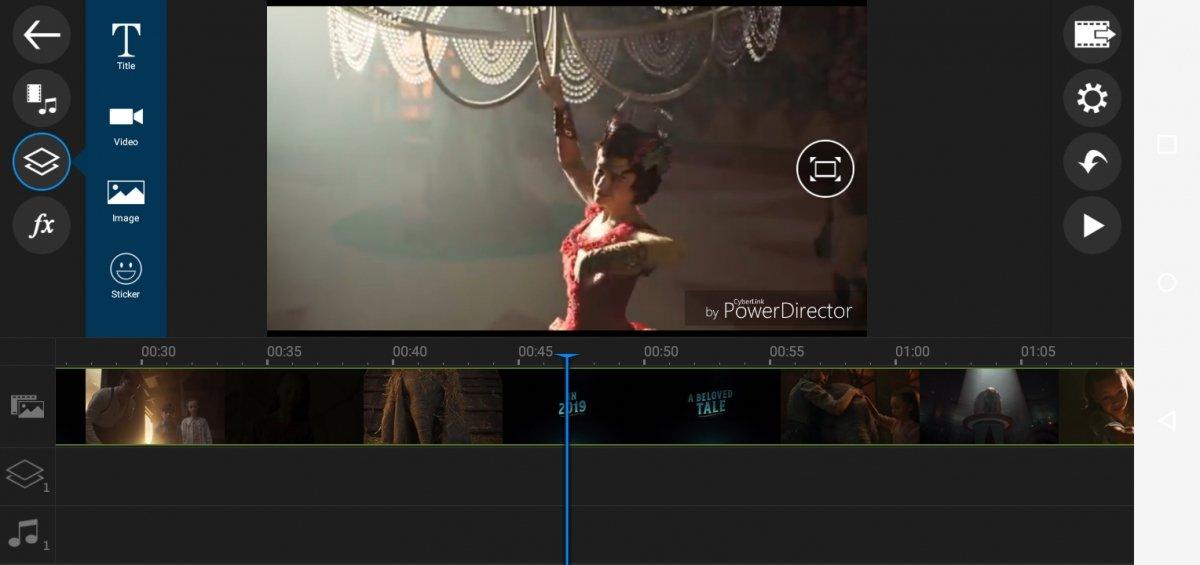 PowerDirector es un potente editor de vídeo para Android