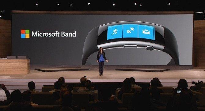 Presentación de la Microsoft Band