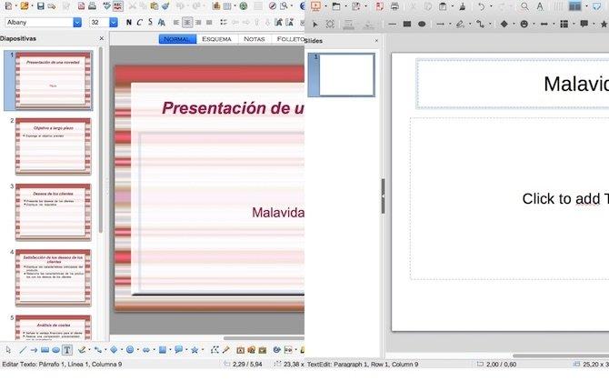 Presentación: LibreOffice vs OpenOffice