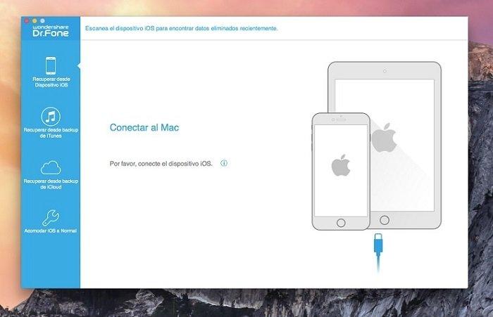 Primer paso: conecta tu iPad o iPhone al ordenador