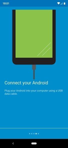 Primer uso de Vysor en Android
