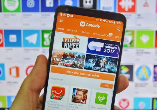 Las mejores alternativas a Aptoide