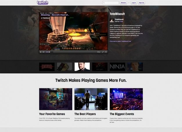 Amazon compra Twitch, la plataforma de streaming de videojuegos