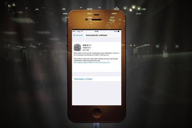 Apple lanza iOS 8.1.1 y un parche para Yosemite