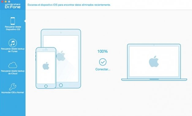 Recupera archivos borrados de tu iPhone o iPad con Dr. Fone for iOS