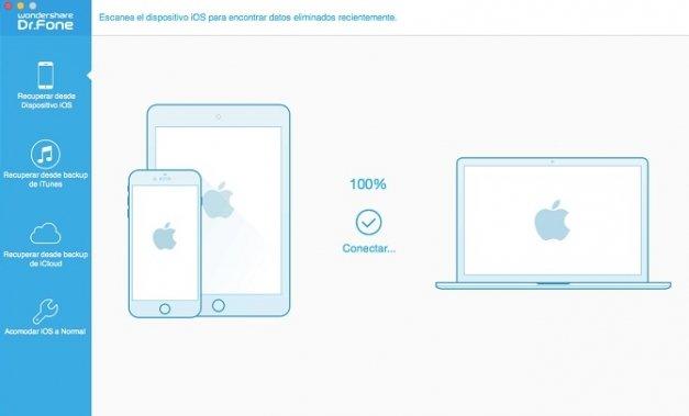 Recupera archivos borrados de tu iPhone o iPad con Dr. Fone for iOS