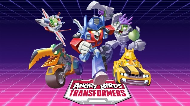 Descarga ya Angry Birds Transformers desde tu país