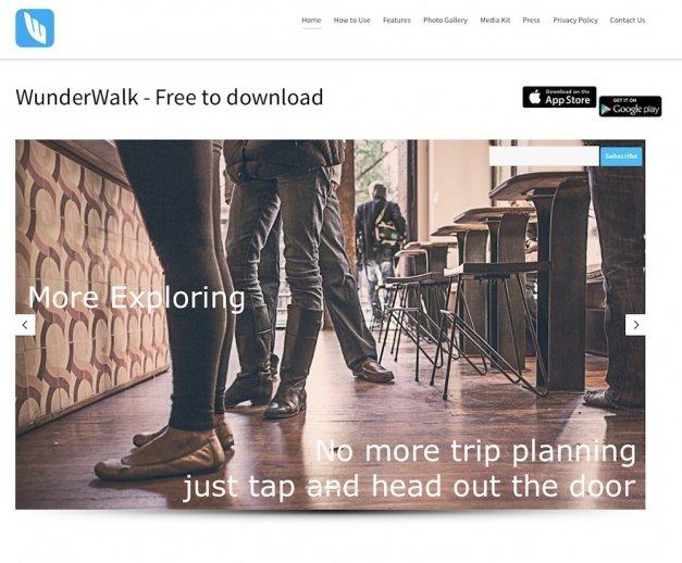 Descubre la ciudad con WunderWalk y compártelo con tus amigos
