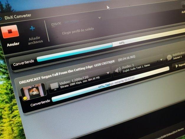 Cómo convertir archivos FLV a DivX