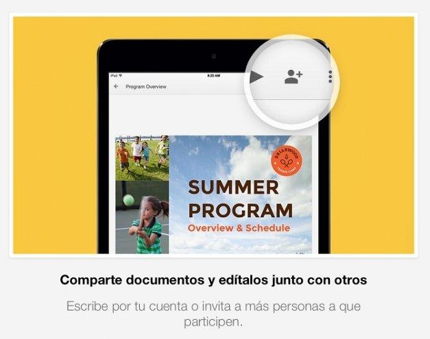 Google lanza Slides para iOS, la app para crear presentaciones