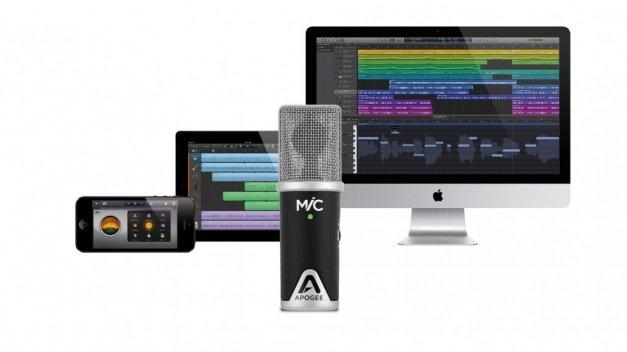 Grabación de estudio con GarageBand y MiC 96k