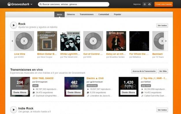 Grooveshark declarada culpable de violar derechos de autor