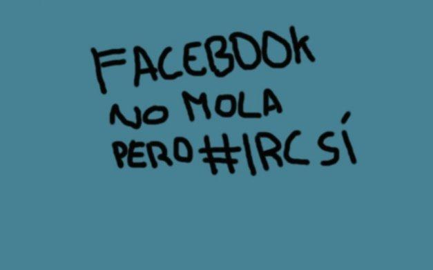 Cosas que puedes hacer en IRC y en Facebook no (o sí pero con matices)