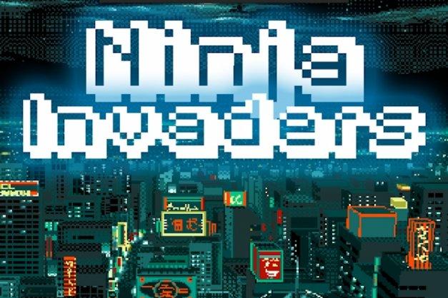 Ninja Invaders: acción y diversión retro de 8 bits