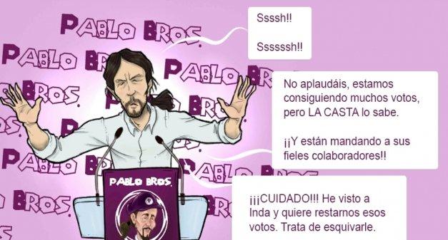 Las armas tecnológicas de Podemos